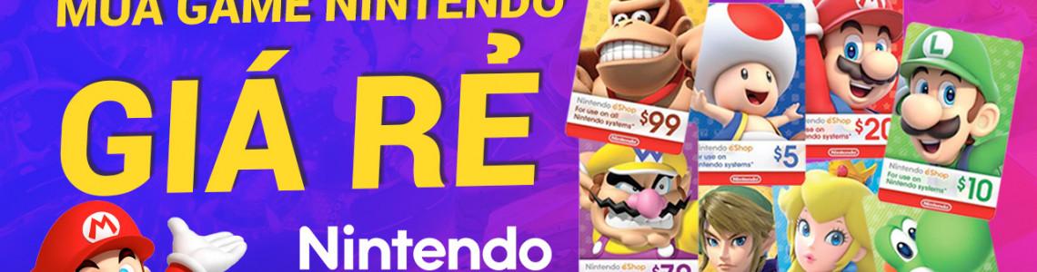 Mẹo mua game Nintendo Switch giá rẻ trên Nintendo eShop