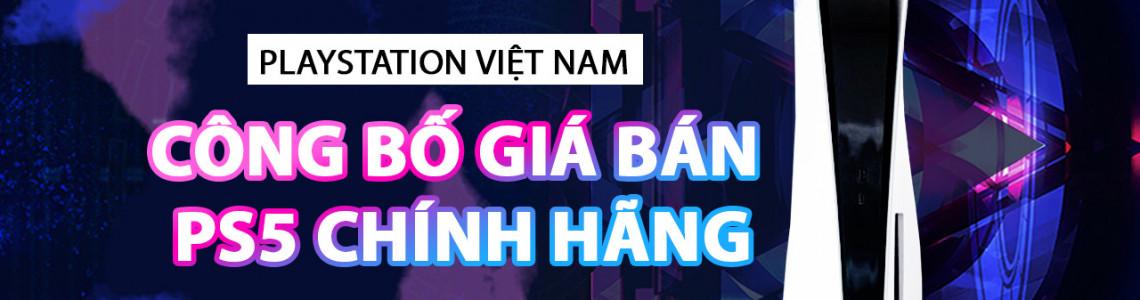 Đã có giá và ngày bán PS5 chính hãng Việt Nam