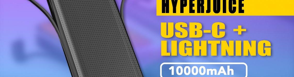 Pin sạc dự phòng HYPERJUICE USB-C + LIGHTNING: Có điểm gì đáng chú ý?