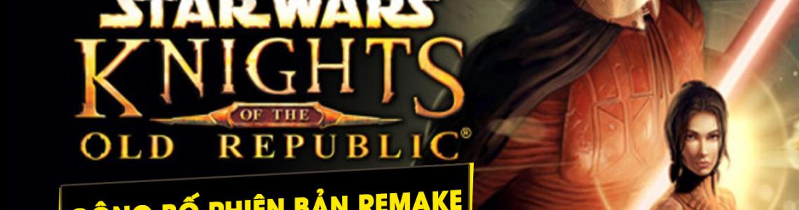 Nhà phát triển của Knights of the Old Republic tuyên bố tựa game không phải là một bản Remake đơn thuần