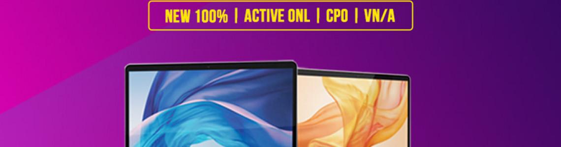Phân biệt các phiên bản MacBook trên thị trường: Chưa Active, Active Online, CPO, Chính Hãng VN/A