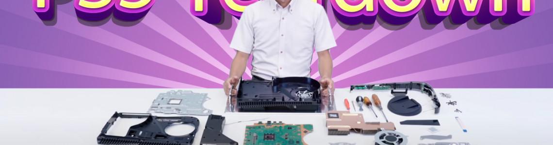 PS5 Teardown: Rất to và nạc, dễ tháo lắp và nâng cấp SSD, có keo tản nhiệt Liquid Metal