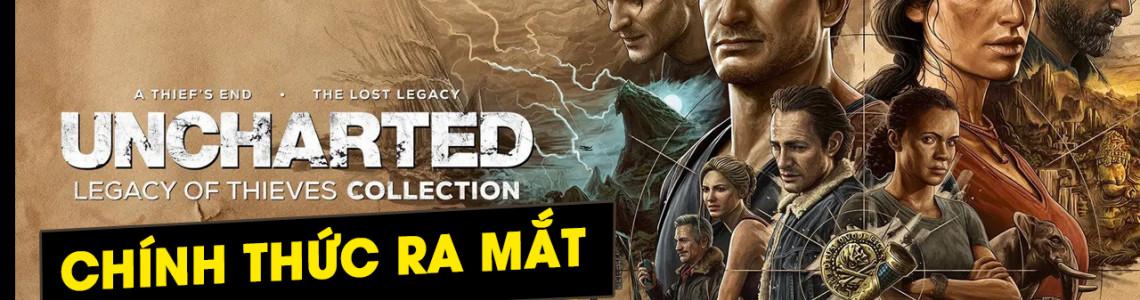 [PlayStation Showcase 2021] Siêu phẩm Uncharted Remastered sẽ ra mắt cho PS5