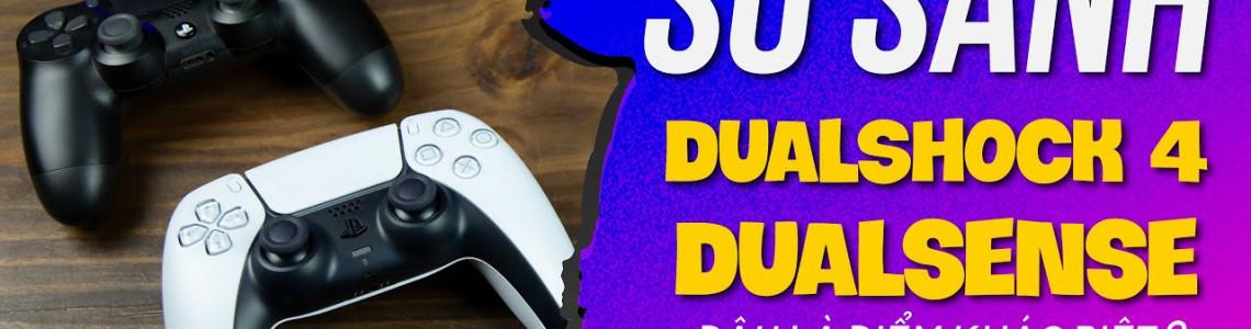 So sánh tay cầm DualSense với DualShock 4: Bước đột phá về thiết kế và trải nghiệm có gì khác so với DualShock?