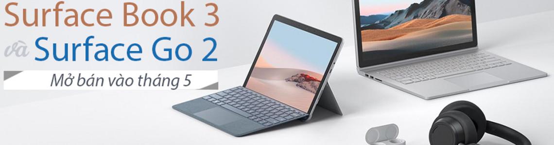 Cặp Đôi Surface Book 3 Và Surface Go 2 Chính Thức Trình Làng