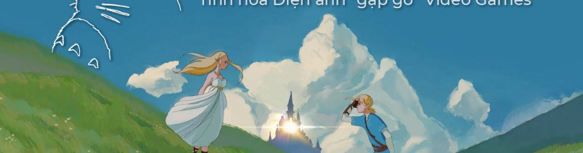 Game Việt Hoa cùng 5 tựa game khác lấy cảm hứng từ anime Ghibli Studios