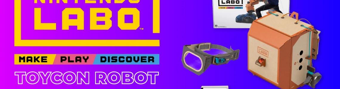 Trải nghiệm đồ chơi Nintendo Labo Robot Kit - Hóa thân thành Chiến binh Robot mạnh mẽ