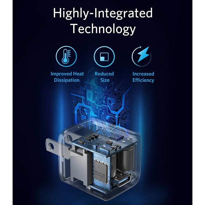 Anker PowerPort III Nano 18W - White