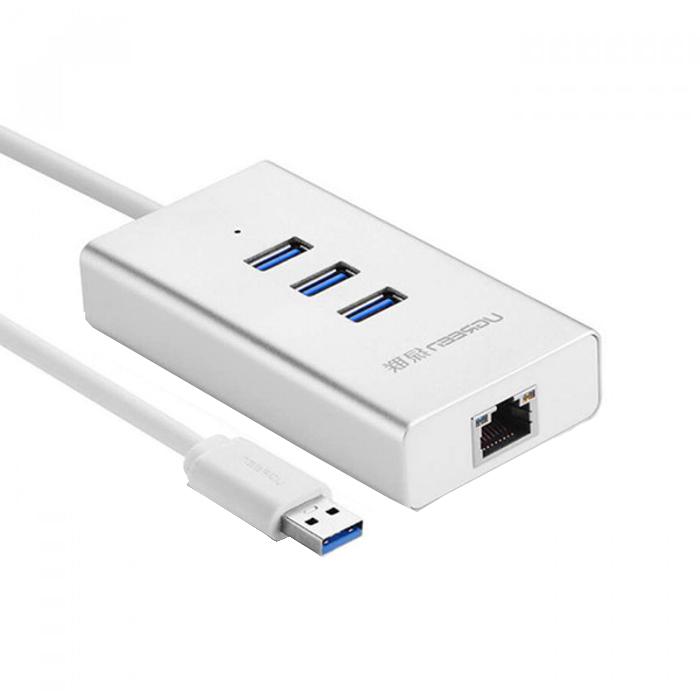 Ugreen 3 USB 3.0 Ports Hub + Ethernet