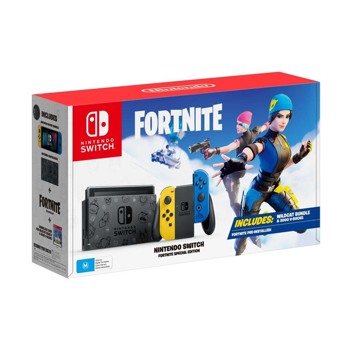 New Nintendo Switch - Fortnite Limited Edition