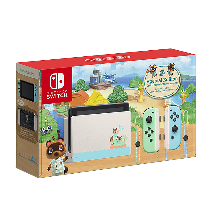 New Nintendo Switch - Animal Crossing New Horizons Special Edition