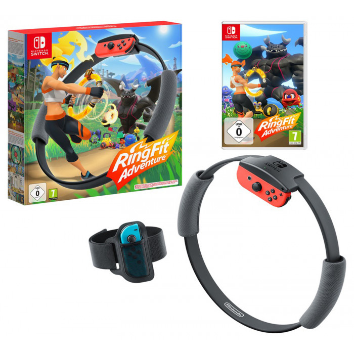 Ring Fit Adventure Nintendo Switch - ASIA