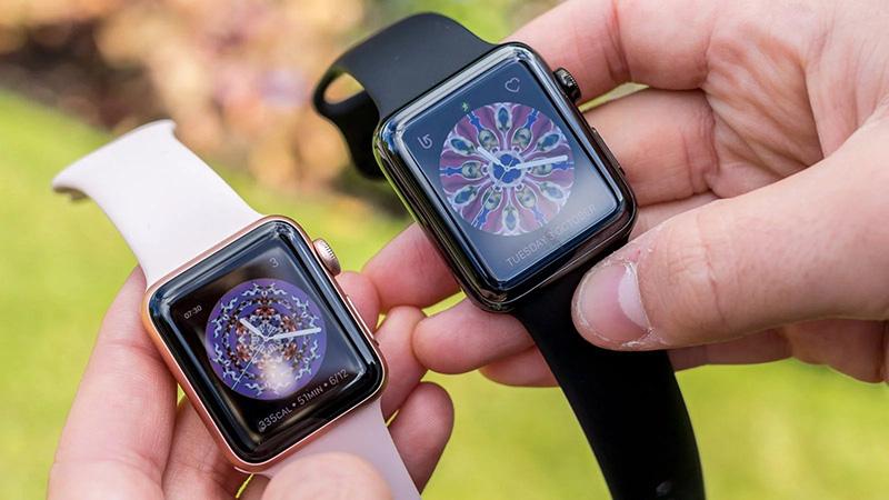 So sánh Apple Watch S2 và S3