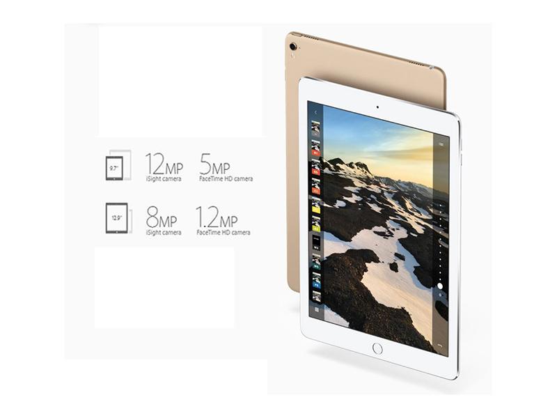 Hình ảnh và video từ <strong>iPad Pro</strong> luôn có độ chân thực và sắc nét cao.